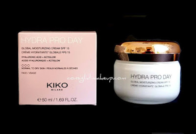 Review: Crema Idratante Hydra Pro Day - Kiko Cosmetics