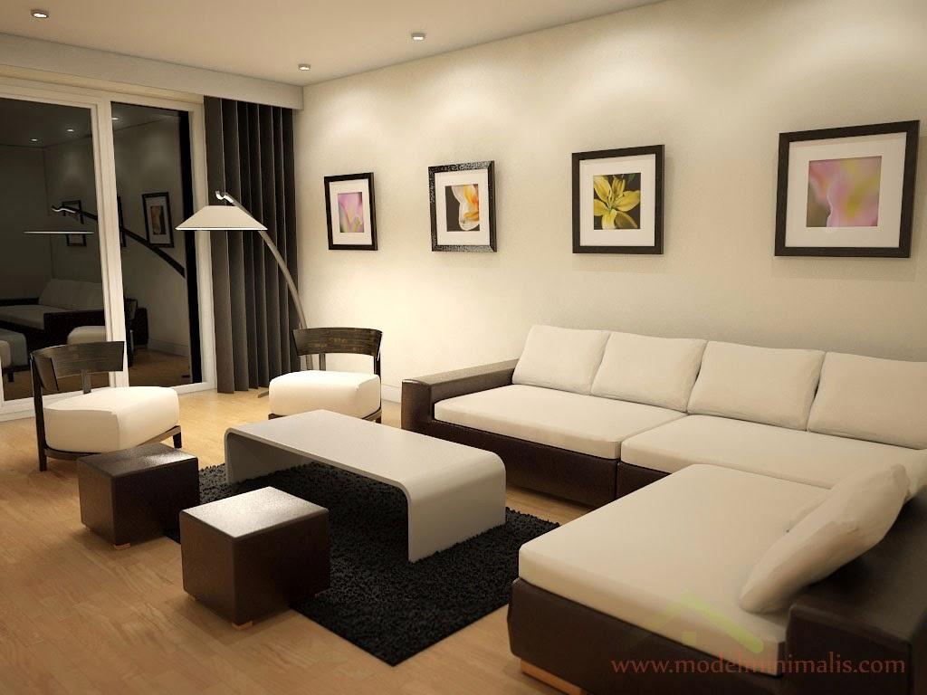 Warna Cat Rumah Ruang Tamu Minimalis Arsihome