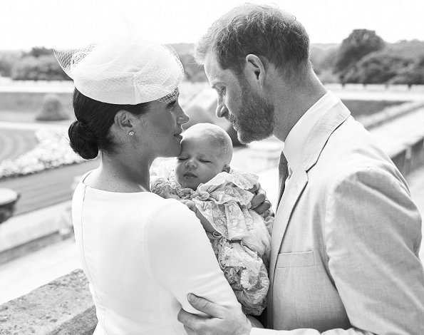 Archie Harrison Mountbatten-Windsor, the son of Prince Harry and Meghan Markle, baptism ceremony at Windsor