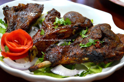 Grilled Chili Lamb Chops