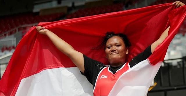 Perolehan Medali Indonesia dan Klasemen Asian Para Games 2018