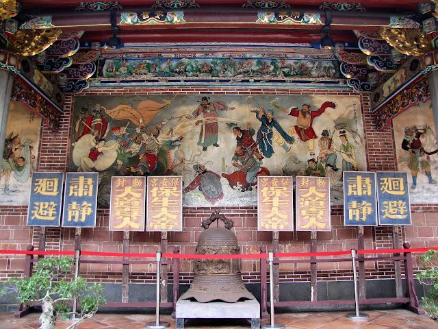 mural baoan temple taipei taiwan