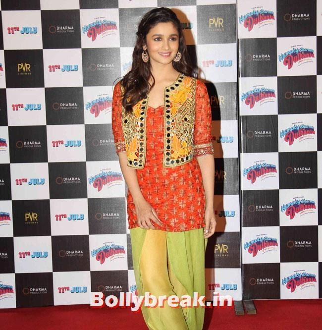 Alia Bhatt, Alia & Varun Sizzle at Humpty Sharma Ki Dulhania First Look Launch