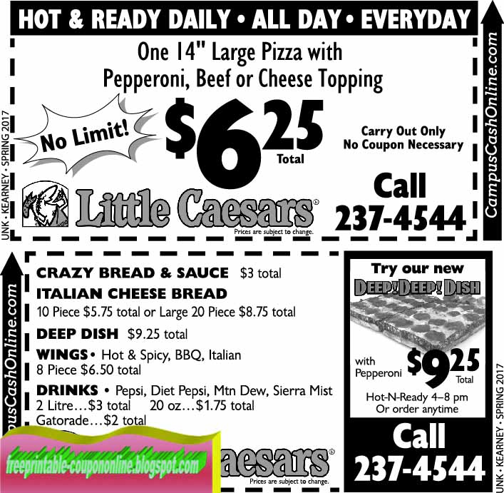 Little caesars coupon code