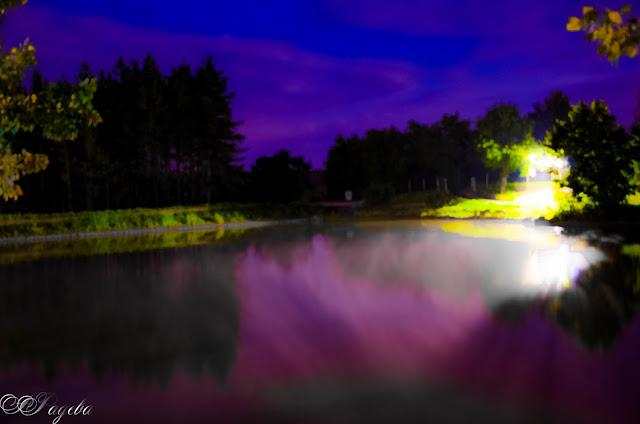 Нощни-пари-над-язовира-Evening-steams-over-the-lake