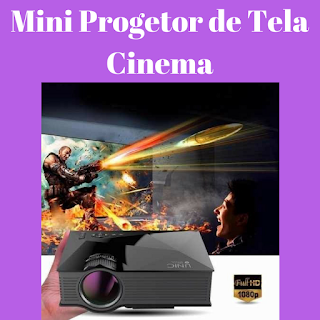 mini projetor de cinema