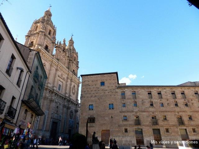 Iglesia de la Clerecía y la casa de las conchas, Salamanca