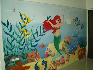 Anaokulu Kreş Duvar Boyama Sanatı Duvar Boyama
