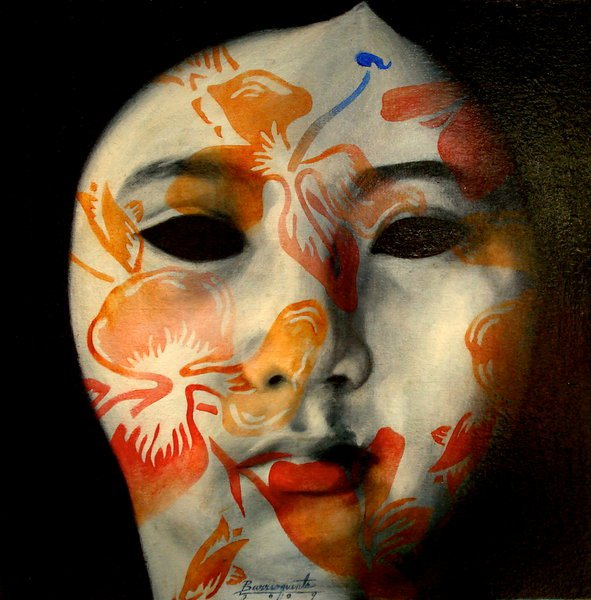 Shadow Dancer | Andres Barrioquinto 1975 | Filipino Surrealist  painter