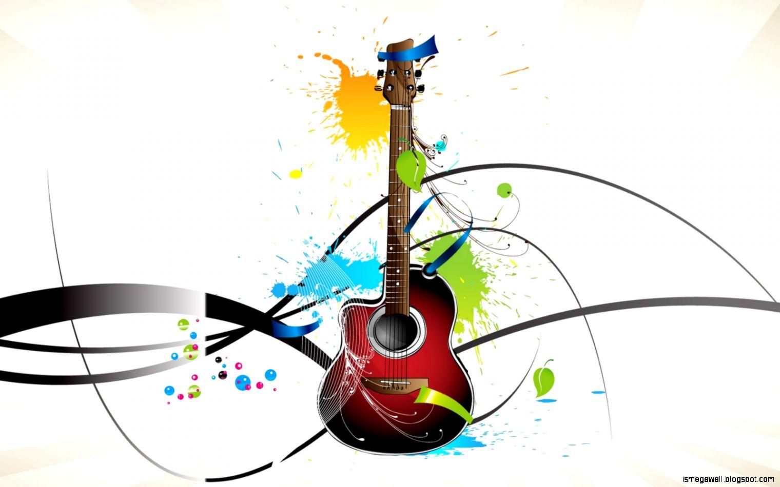 Music Wallpaper Art Guitar Hd Wallpapers Mega Wallpapers