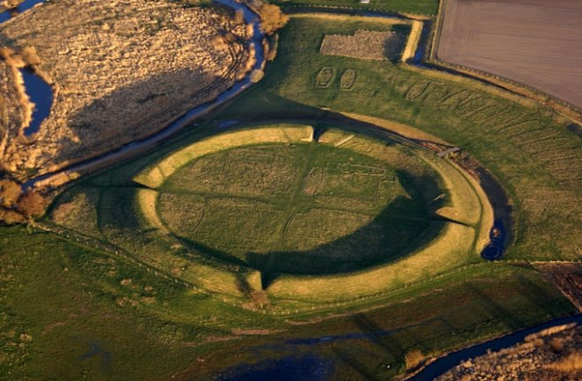 Borgring Fortress in Denmark discovered with LIDAR