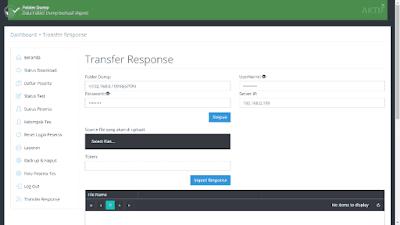 Konfigurasi Transfer Response UNBK