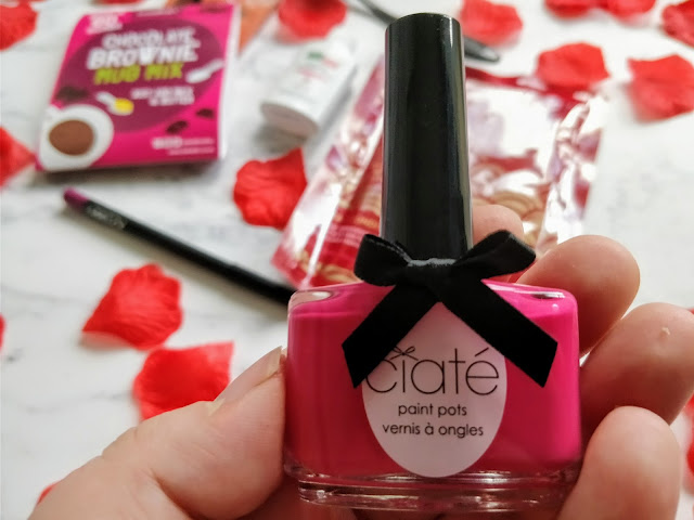 Ciate London Nail Polish in Raspberry Collins