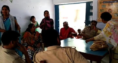 Female School Principal Beats Fellow Teacher In Uttar Pradesh