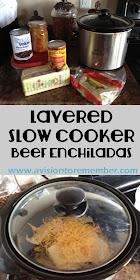 layered beef enchiladas