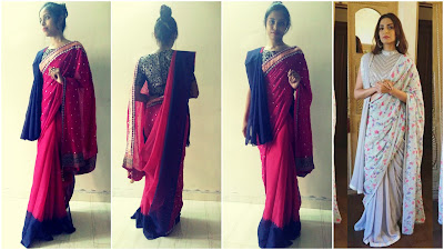 how to wear sonam kapoor saree, how to wear double pallu saree, how to wear bollywood saree, how to wear saree video