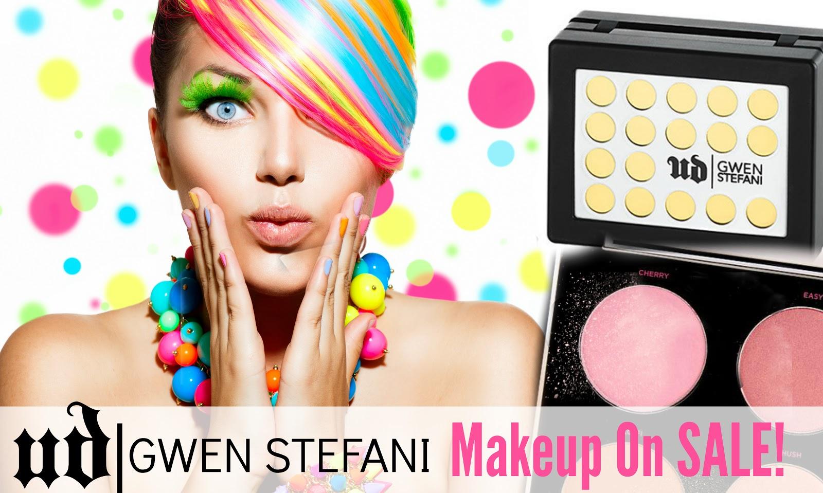 Urban Decay Gwen Stefani Makeup Now On Sale! | Barbie\'s Beauty Bits