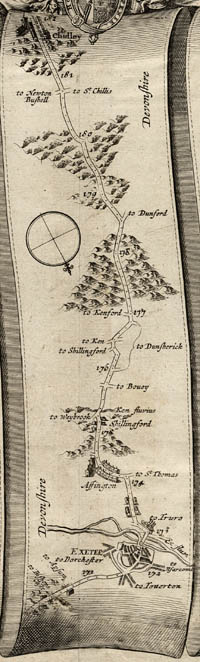 Ogilby's map of 1675