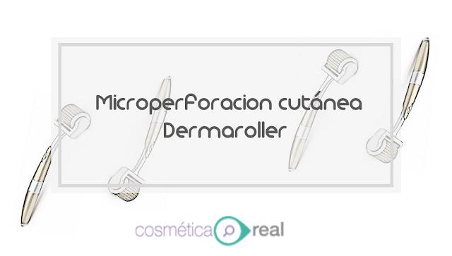 Microperforación cutánea, alias dermaroller