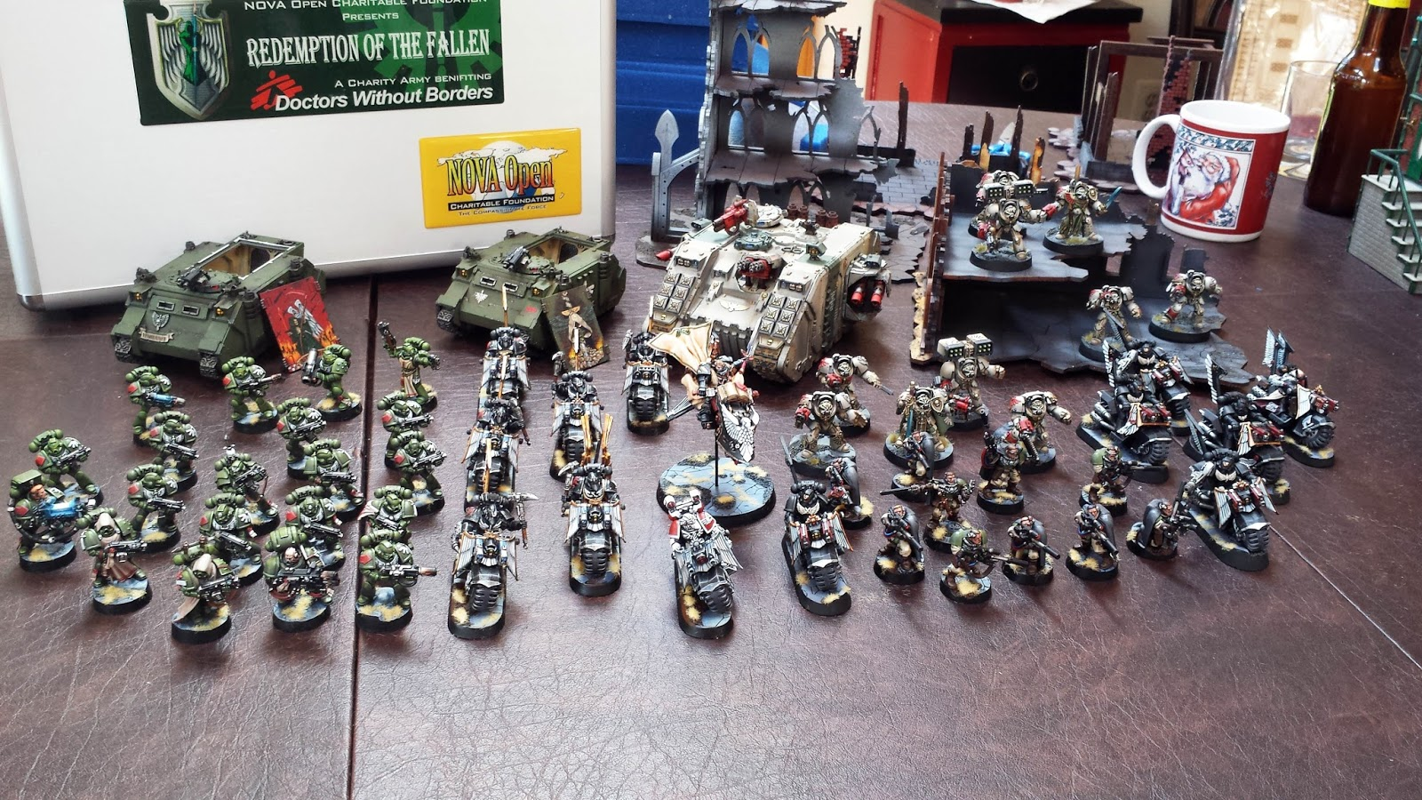 40k Hobby Blog: Redemption of the Fallen Army Shot