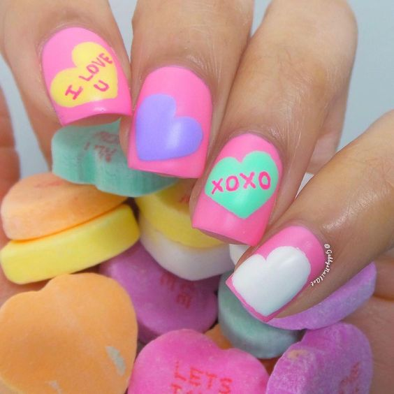 #Nail #Valentine's #Day Pretty Nail Art Designs for Valentine's Day