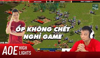 AoE HIghlight | Chim Sẻ tuyên bố gây sock trước turn ốp quyết định vào nhà Shenlong