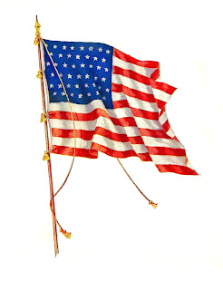 american flag image independence day clip art