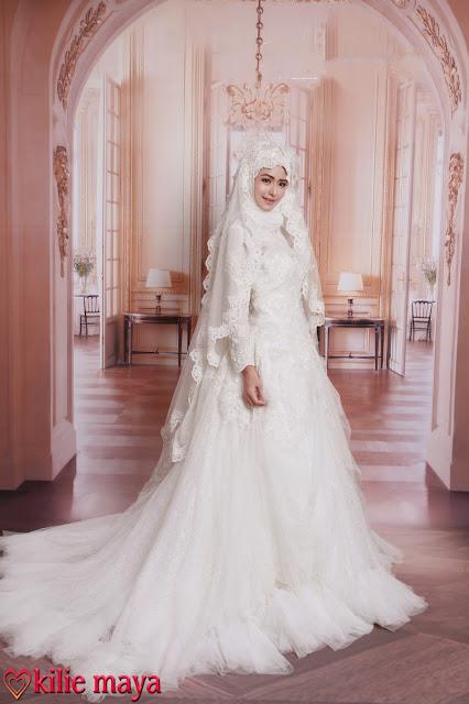 robe de mariée musulmane