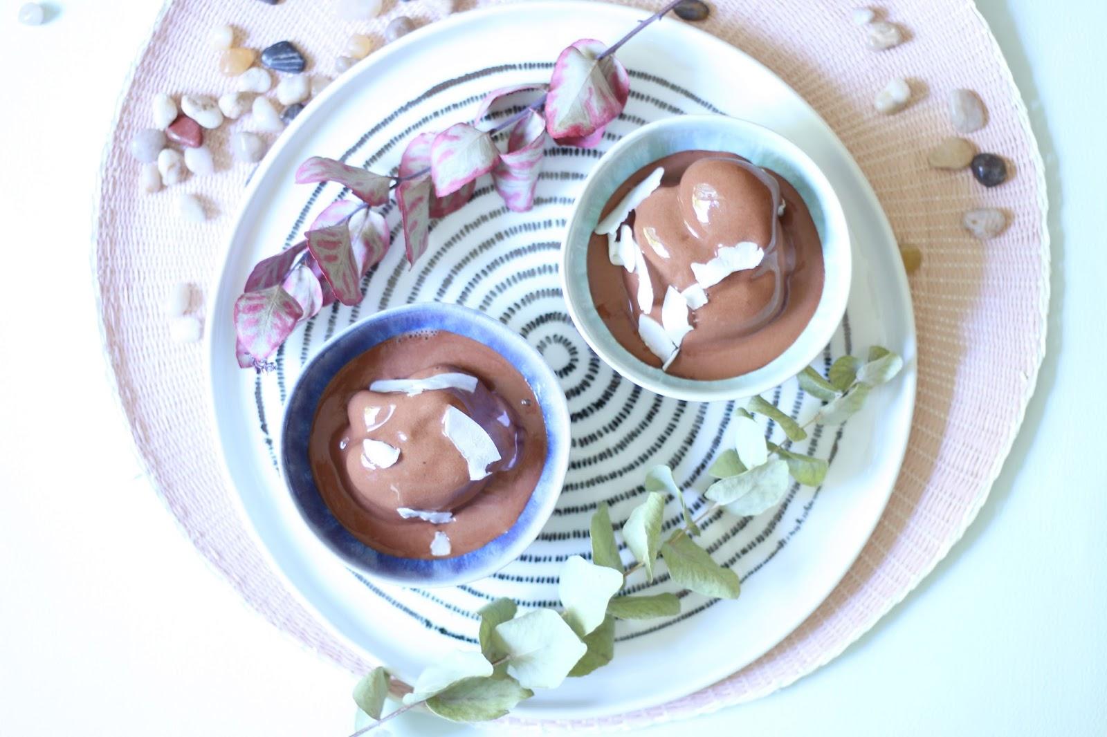 glace express au chocolat  vegan