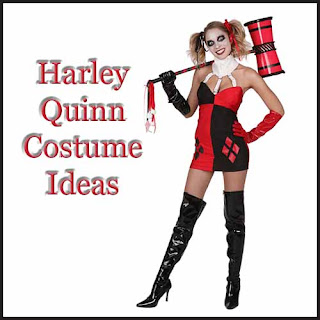 Harley Quinn Halloween Costume Ideas - perfect for ComicCon, Halloween or any fancy dress event!