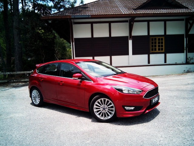 2016 Ford Focus 1.5 EcoBoost Sport+ Hatchback (Automatic) TESTED