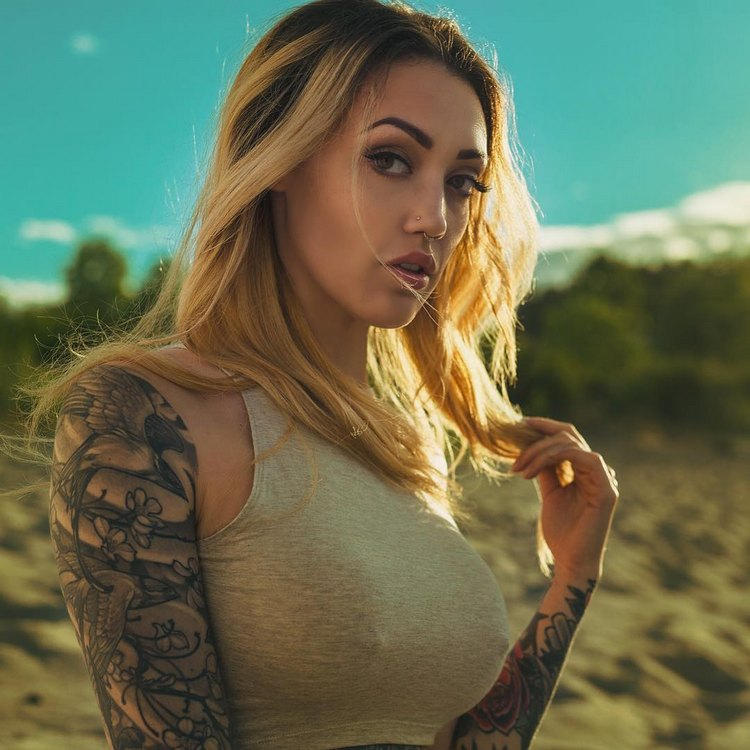 tattoo model porn