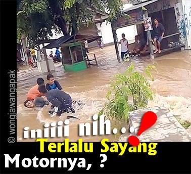 Dp Bbm Lucu Tentang Banjir