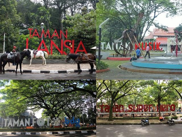 24 Taman Tematik di Bandung Favorit Wisatawan