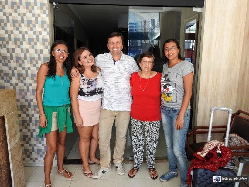 Onde ficar em Fortaleza - equipe do hotel Aquarius