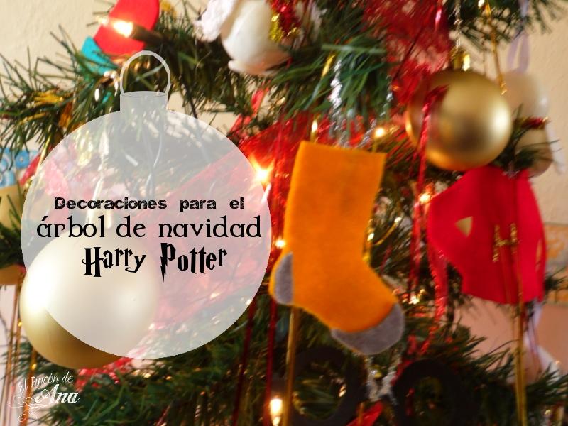 Decoraciones de fieltro para el árbol - Harry Potter