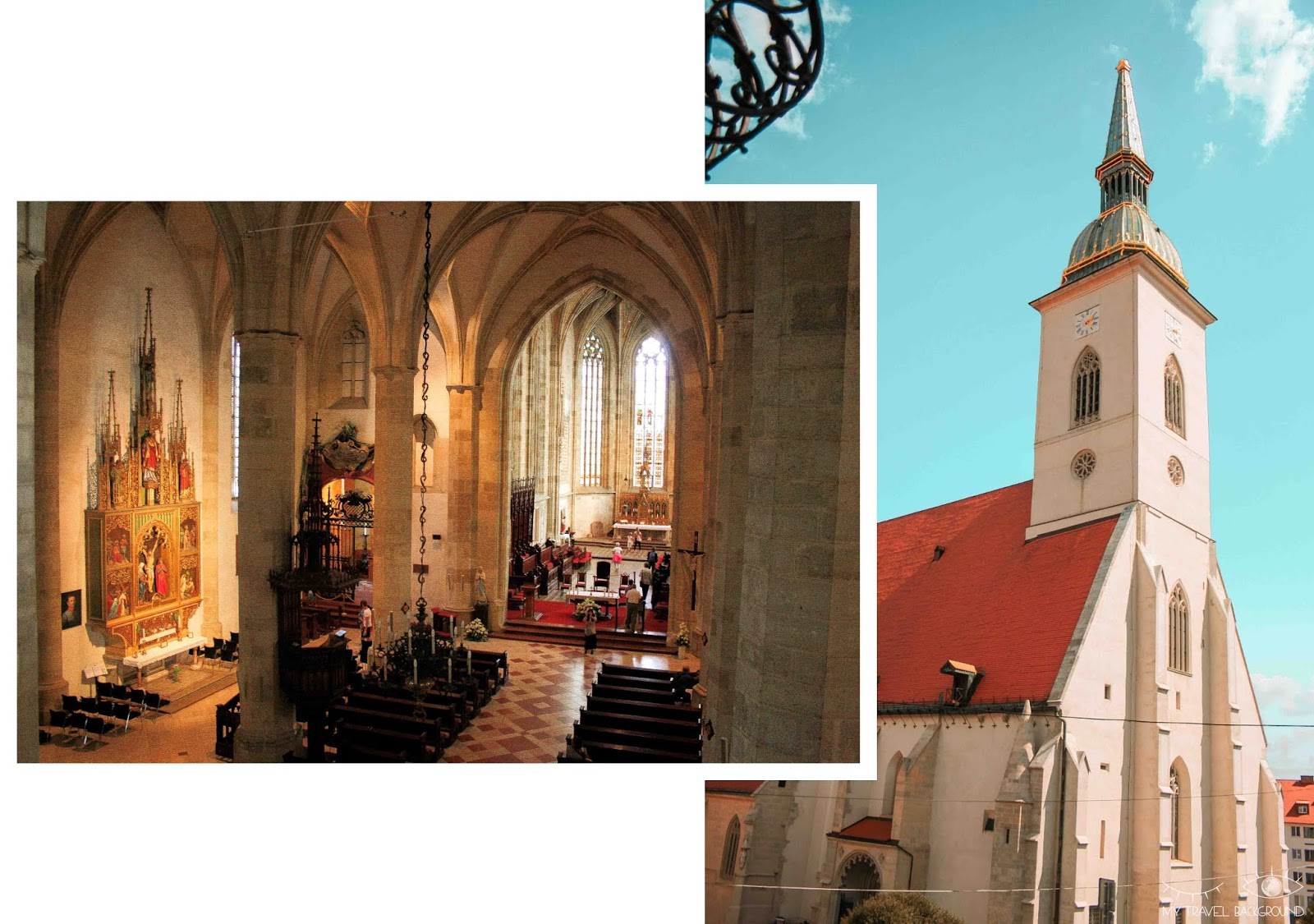 My Travel Background : visiter Bratislava, la capitale de la Slovaquie, en 1 jour - Cathédrale Saint-Martin