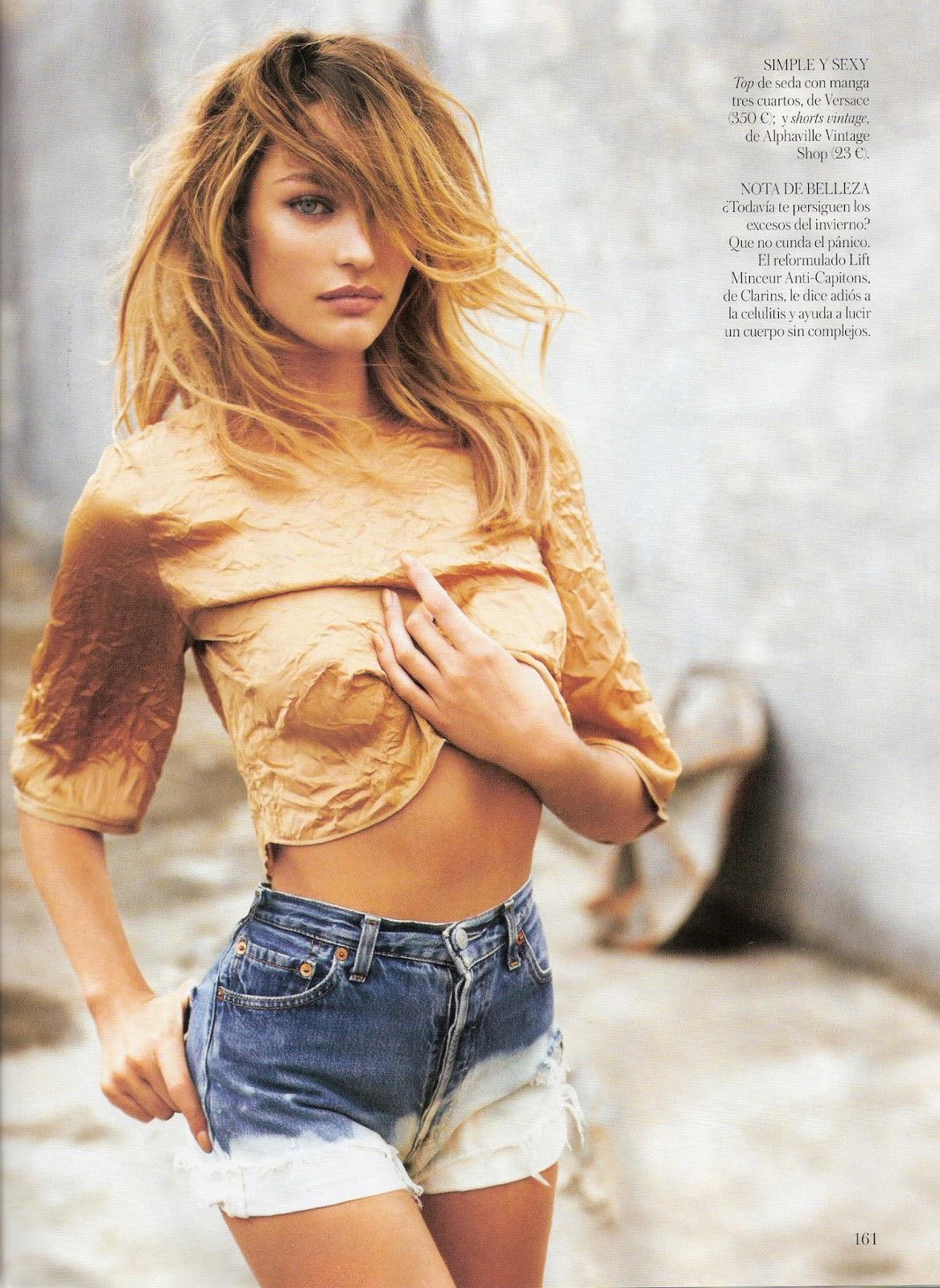 Candice Swanepoel - VOGUE Magazine (Brazil) - January 2014