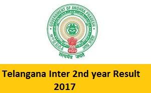 Telangana Inter 2nd year Result 2017