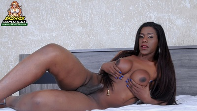 Brazilian-transsexuals – Ebony beauty Paulinha Ribeiro Remastered
