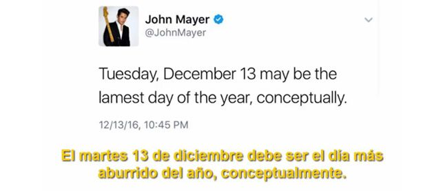 John Mayer Twit Taylor Swift