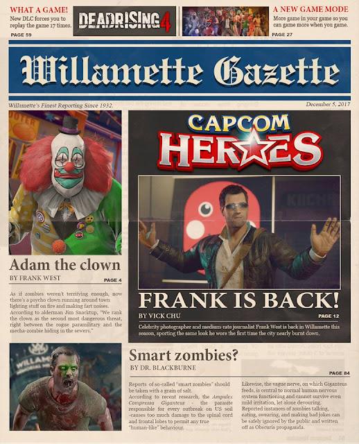 Dead Rising 4: Capcom Heroes