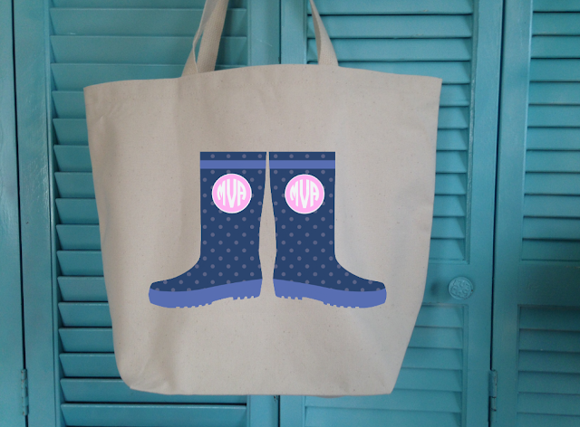 free design rain boots, silhouette studio cut file design