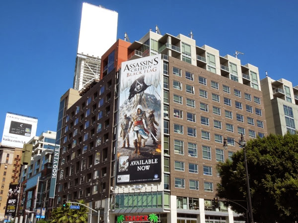Assassins Creed 4 Black Flag billboard
