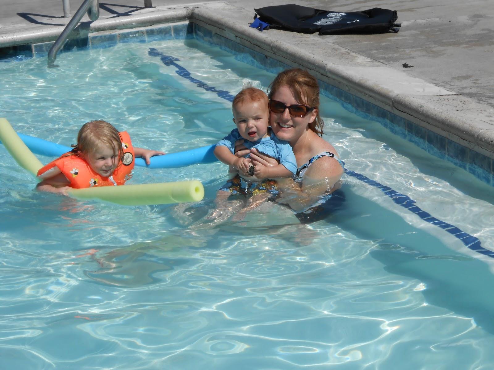 Ammon Swimming Pool: Rachel Fuhriman: Summer Fun