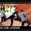 Futminna Biochemistry students caught dancing One corner