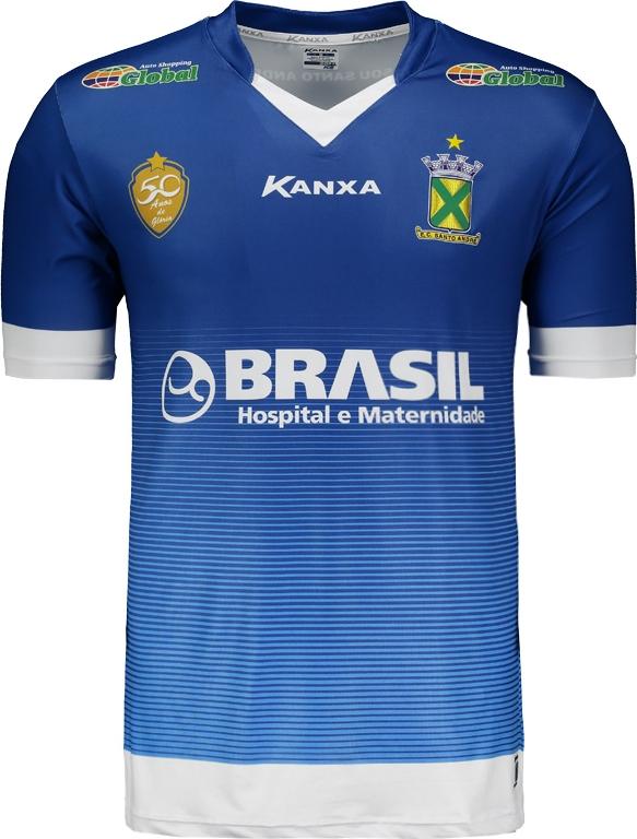 de3ac071f3 Kanxa apresenta as novas camisas do Santo André - Show de Camisas