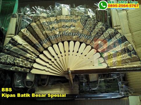 Kipas Batik Besar Spesial