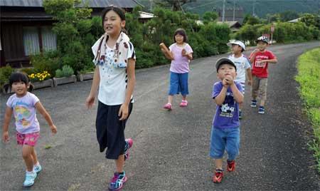 火の用心マッチ1本火事のもと 児童が自主活動