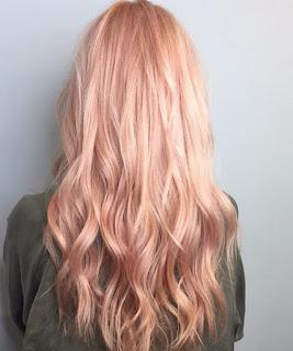 สีผม Rose Gold